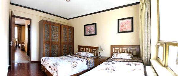 中式自理型卧室